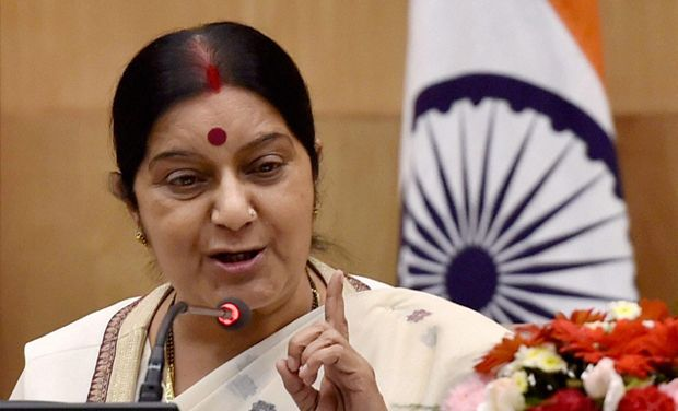Sushma Swaraj headed the proposal for surrogacy regulation.Credit: PTI