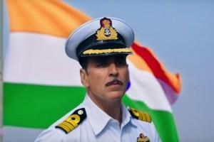 Akshay Kumar as Rustom in the film of the same name.