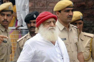 Asaram Bapu is accused of raping a minor girl who was staying at his ashram. Credit: PTI