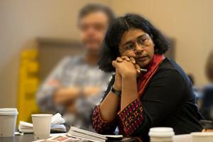 Himal Southasia editor Aunohita Mojumdar. Credit: Dhaka Tribune