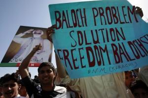 balochistan protest karachi 2009 reuters