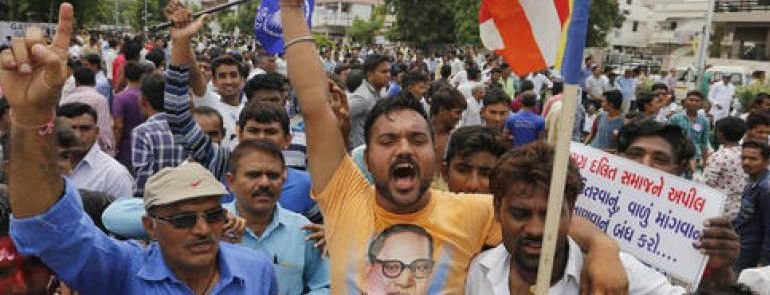 The Dalit Fightback at Una is India's Rosa Parks Moment