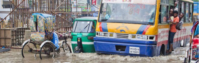 Dhaka Could Be Under Water in a Decade