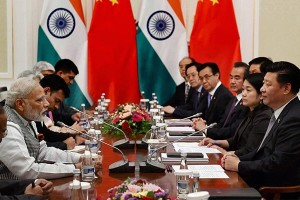 File photo of a meeting between PM Narendra Modi and Chinese President Xi Jinping at Tashkent. Credit: PTI