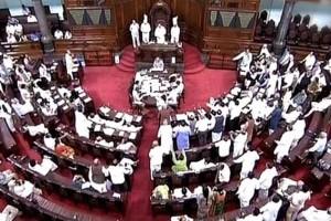 Representational image of the Rajya Sabha. Credit: PTI
