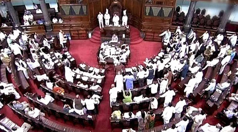 File photo of Rajya Sabha. Credit: PTI