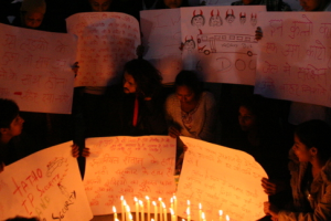 Protests in Delhi after the December 16 gangrape. Credit: Ramesh Lalwani/Flickr CC BY-SA 2.0