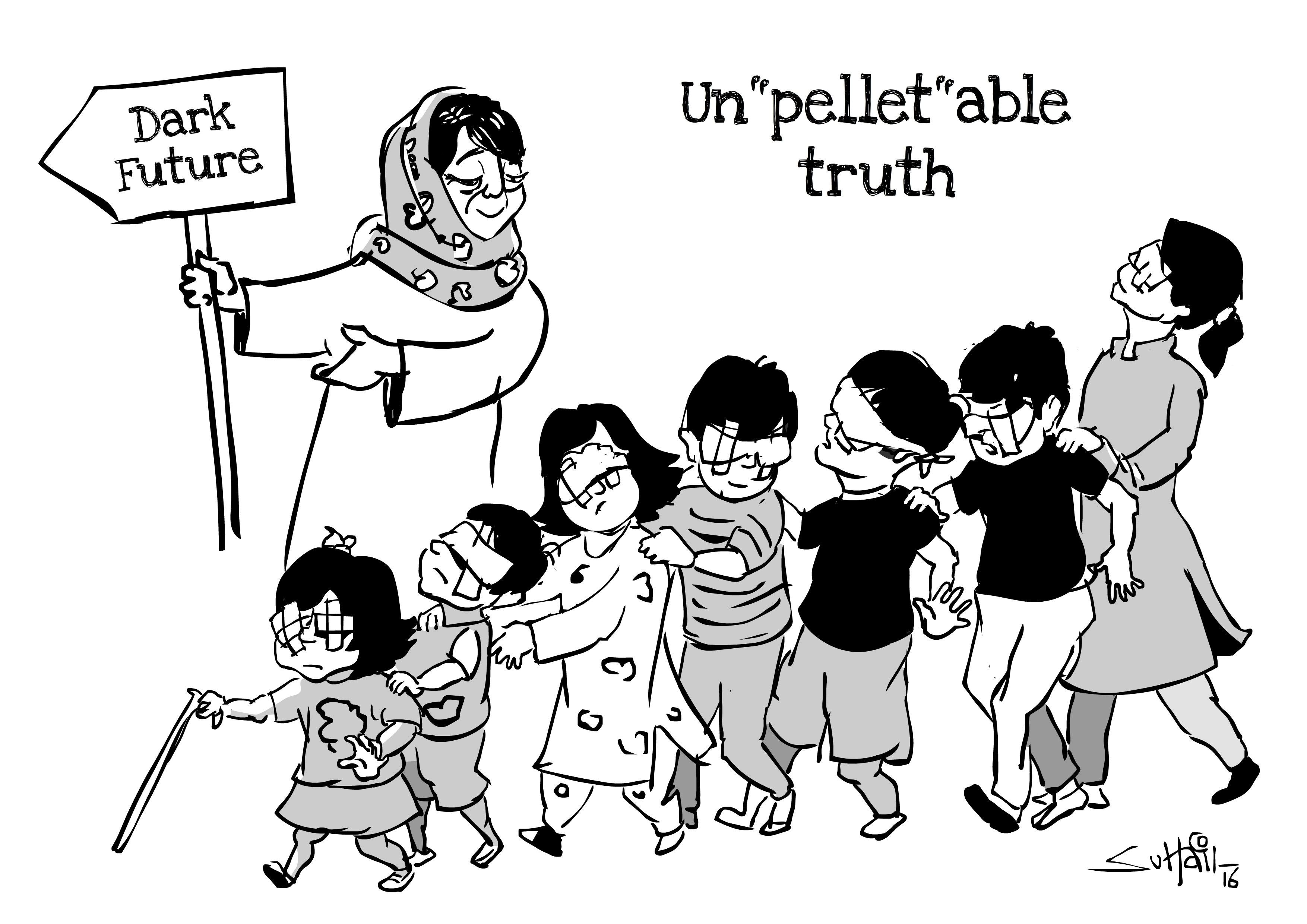 Here S How Kashmiri Cartoonists Are Playing With Their Pain