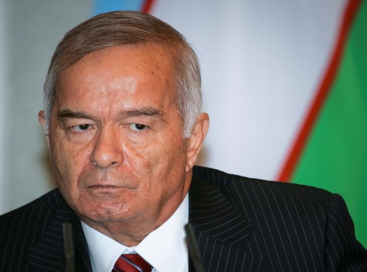 A file photo of Uzbekistan's President Islam Karimov, who has passed away. Credit: Reuters