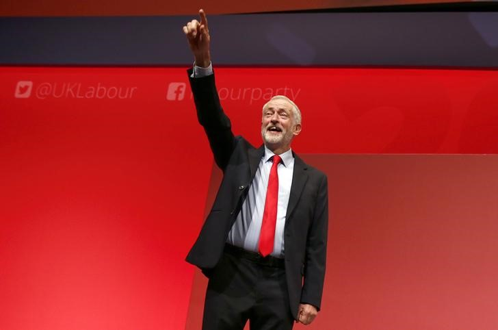 Jeremy Corbyn Sweeps Labour Leadership Contest