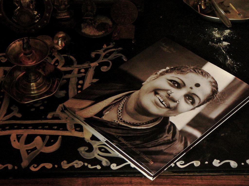 M.S. Subbulakshmi. Credit: Balaji Shankar Venkatachari/CC BY-NC 2.0