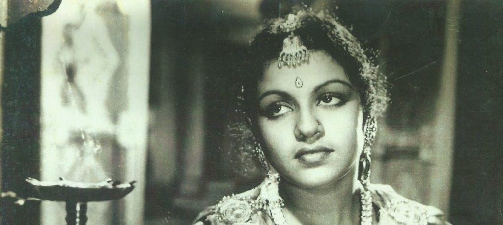 M.S. Subbulakshmi as Meera. Courtesy: West Virginia State Archives/Scroll