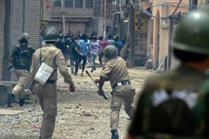 File Photo: Kashmir clashes. Credit: PTI