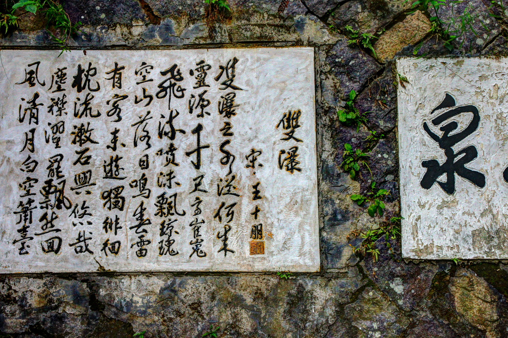 Having previously thought that Chinese calligraphy was subject to no orthographic laws, Samuel Hawks Caldwell soon discovered something to the contrary… Credit: Jan-Christian Teller/Flickr, CC BY 2.0 (Sinotype)