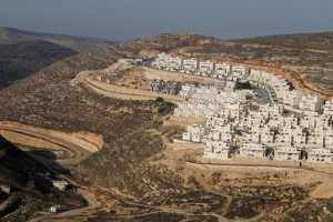 A view shows a construction site in the West Bank Jewish settlement of Givat Zeev, near Jerusalem, December 19, 2011. Credit: Reuters/Baz Ratner/File Photo
