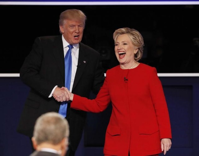 Clinton, Trump Square Off Over Race, Experience in First Debate