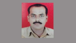 Auto driver Arun Naikuji who killed himself after the community's panchayat threw him out of the caste fold