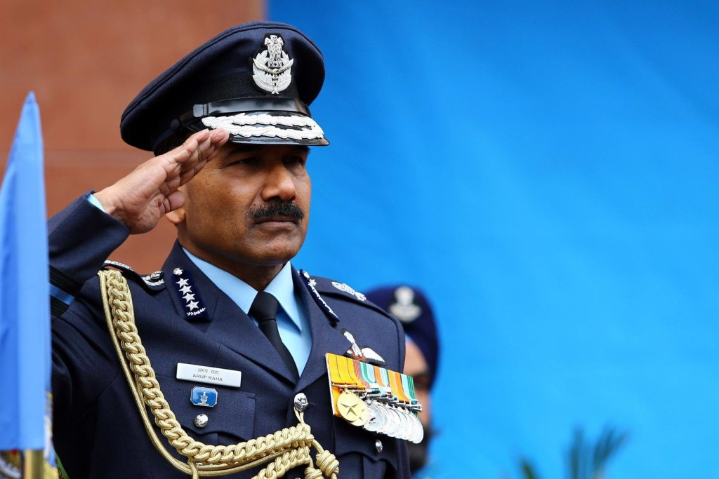 Air Chief Marshall Arup Raha. Credit: defenceupdate.in