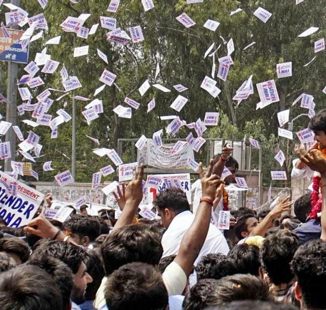 Women Are At the Centre of DUSU Elections This Year