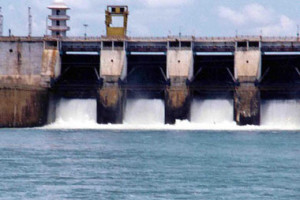 File photo of Cauvery barrage in Karnataka. Credit: Reuters