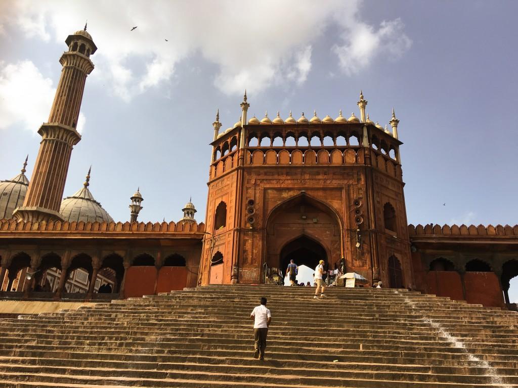 The Jama Masjid, Delhi. Credit: Rana Safvi