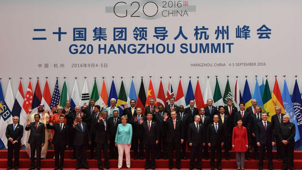 G20 leaders. Credit: Reuters