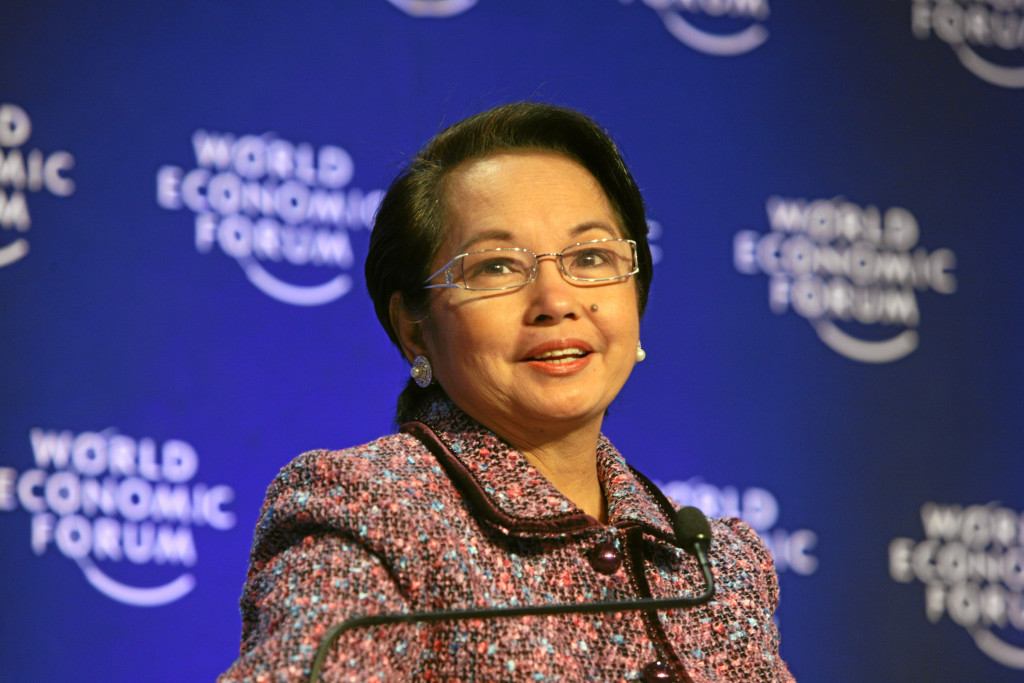 A file photo of Gloria Arroyo. Credit: Wikimedia Commons