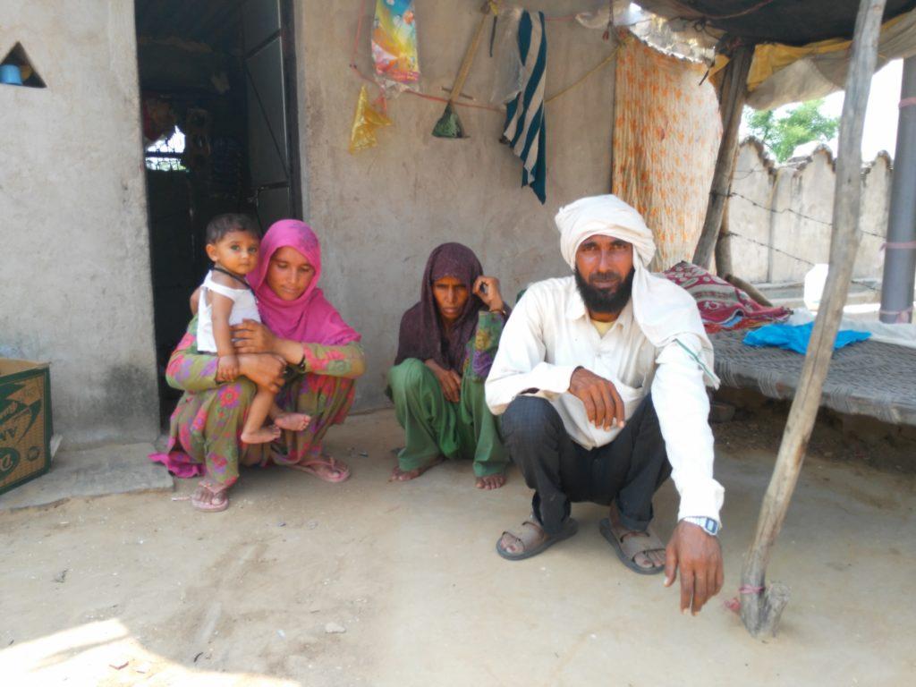 Muhammad Usman, Shareefa, her daughter and granddaughter. Credit: Ajoy Ashirvad Mahaprashasta