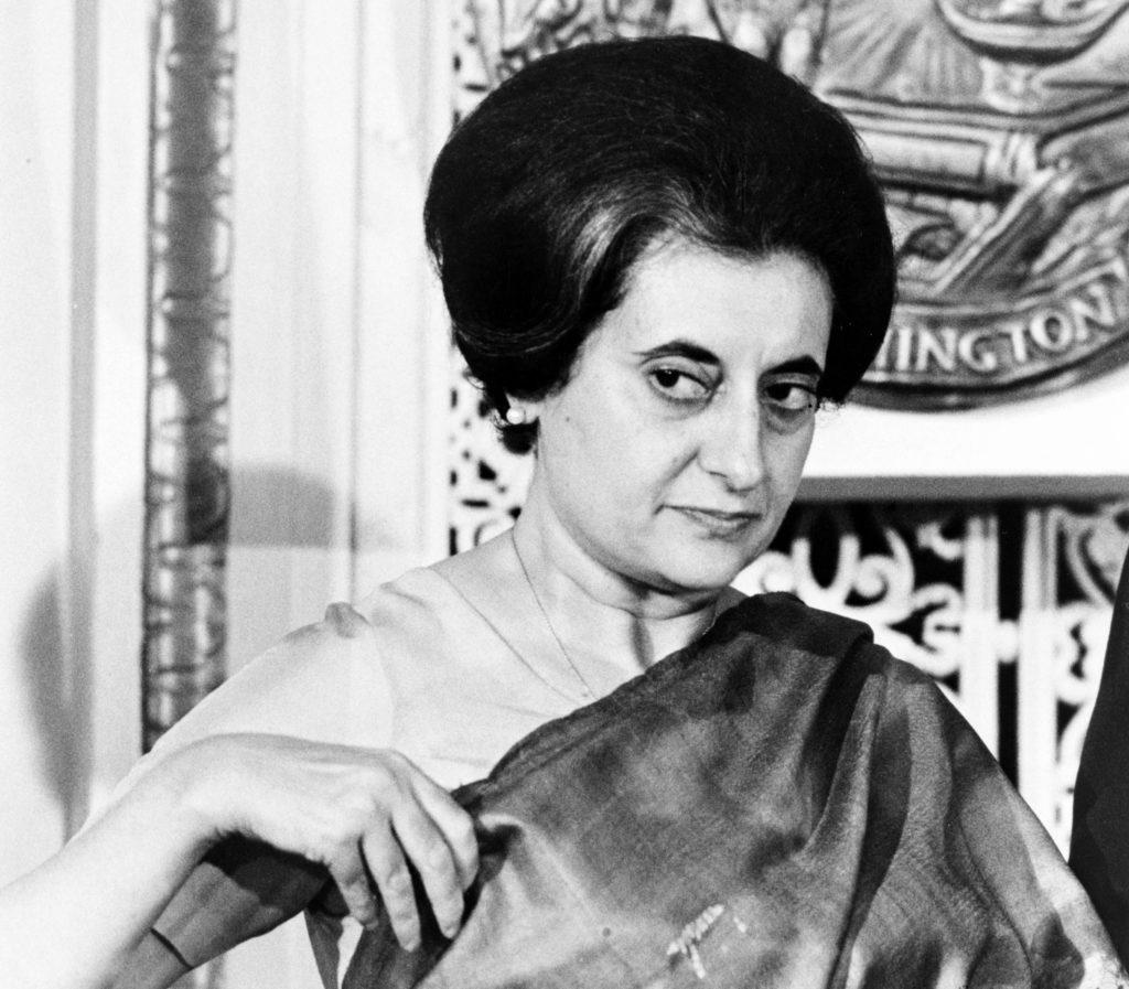 Indira Gandhi. Credit: Wikimedia Commons