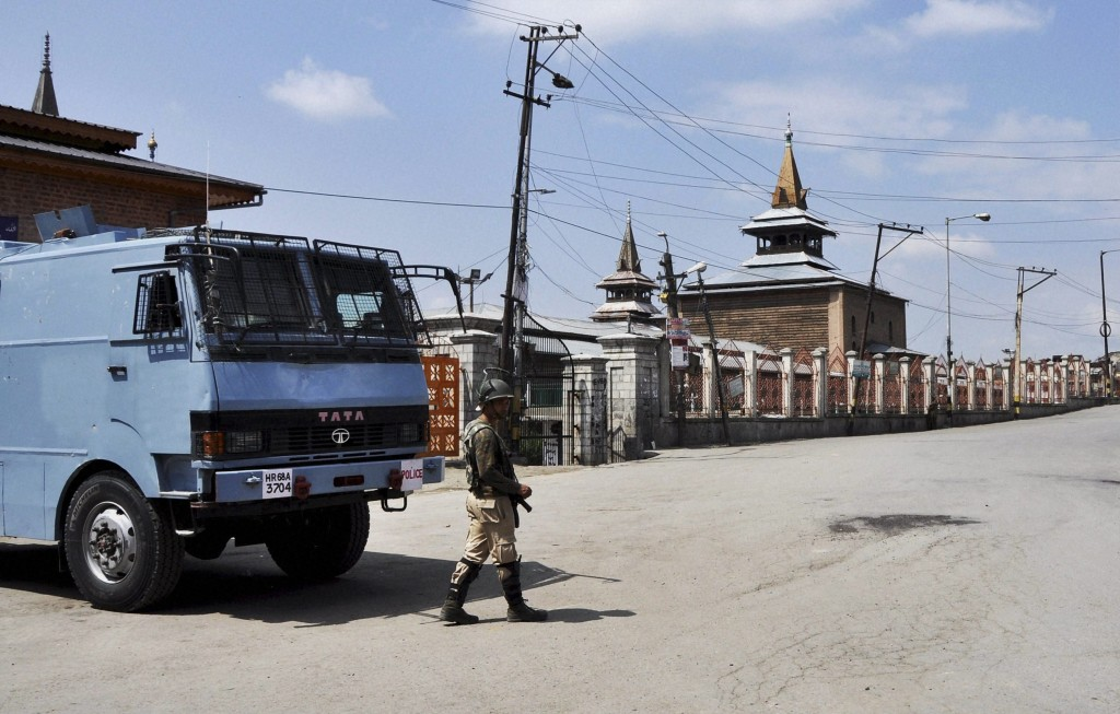 Kashmir: Two Killed in Eid Clashes; Curfew in All Districts