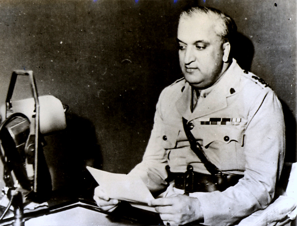 Maharaja Hari Singh of Kashmir, who signed the Instrument of Accession that made Kashmir a part of India. Kashmir has been under AFSPA for several years. Credit: Wikimedia Commons.