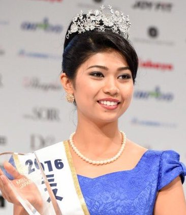 What Does It Mean to Be a 'Haafu'? Just Ask Half-Indian Miss Japan Winner