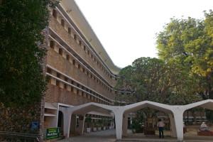 Rabindra Bhawan, Delhi which houses the Sangeet Natak Akademi, Lalit Kala Akademi and Sahitya Akademi. Credit: Wikimedia