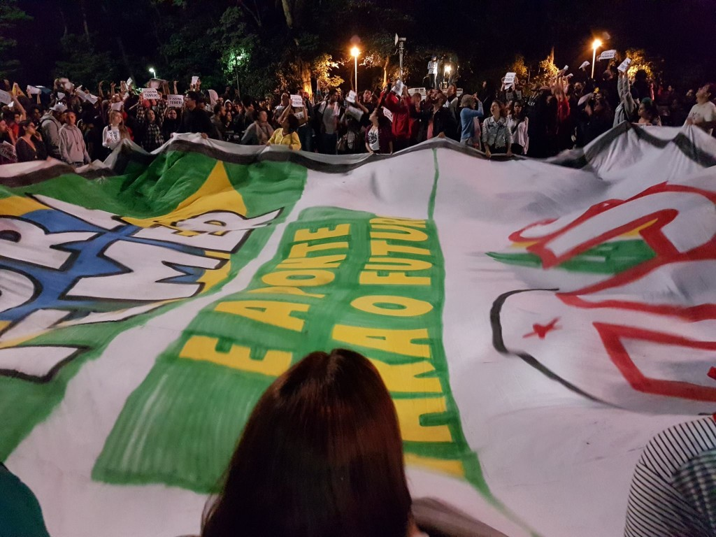 In the past three days, Brazil has witnessed a large number of anti-Temer rallies. The demnstrations are likely to grown in coming days. Credit: Florencia Costa