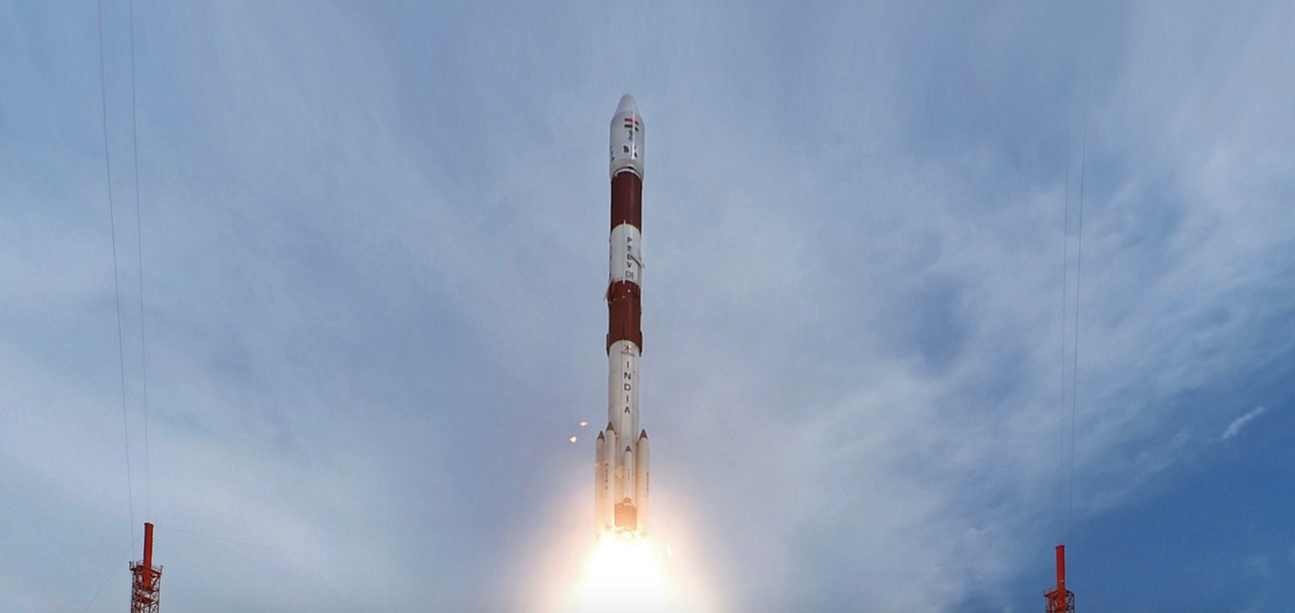 The PSLV C35 takes from from the Satish Dhawan Space Centre, Sriharikota, on September 26, 2016. Credit: ISRO