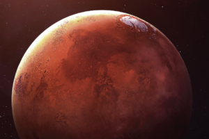 Mars. Credit: SpaceX