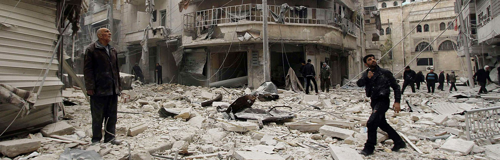 Consumed by Death and Destruction, Syria Is a Ruined Caricature of Its Former Glory