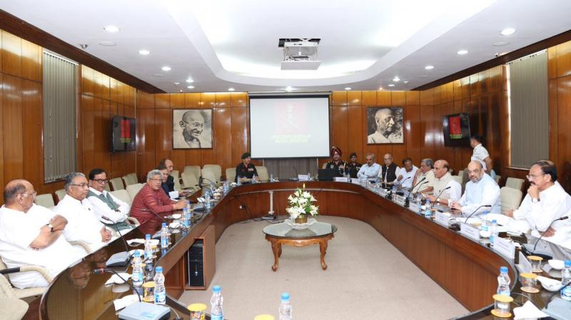 Surgical Strikes Commended by All Parties in Briefing