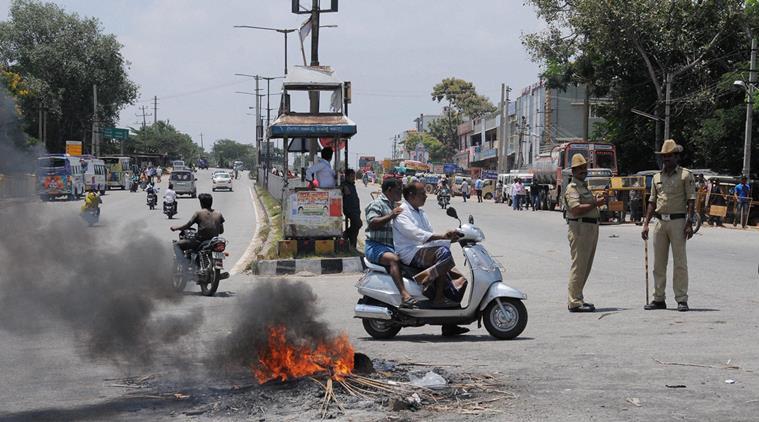Cauvery Water Dispute: Karnataka Bandh Cripples Normal Life in Bengaluru