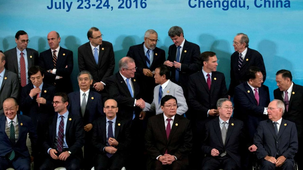 Wheeling-and-dealing at the G20 Summit. Credit: Reuters