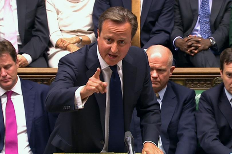 Cameron Exits Parliament Just as Committee Blames Him for Libya's Collapse