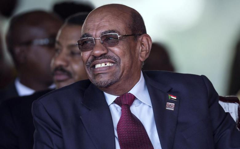 Sudan's President Omar Hassan al-Bashir pictured in Uganda on May 12, 2016. Credit: Reuters/Edward Echwalu