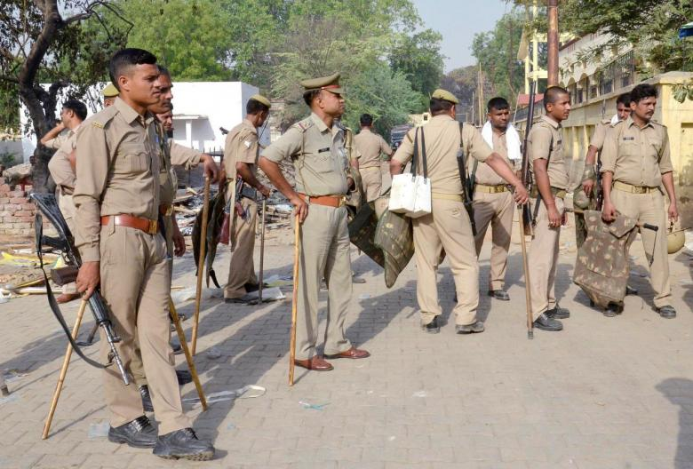 Mathura Police Arrest Four Cops for Allegedly 'Assaulting' RSS Leader