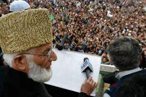 File photo of Hurriyat leader Syed Ali Shah Geelani. Credit: PTI