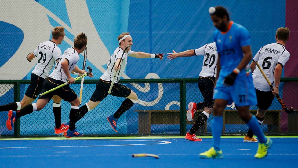 The Indian hockey team lost with 4 seconds left in the game. Credit: Reuters