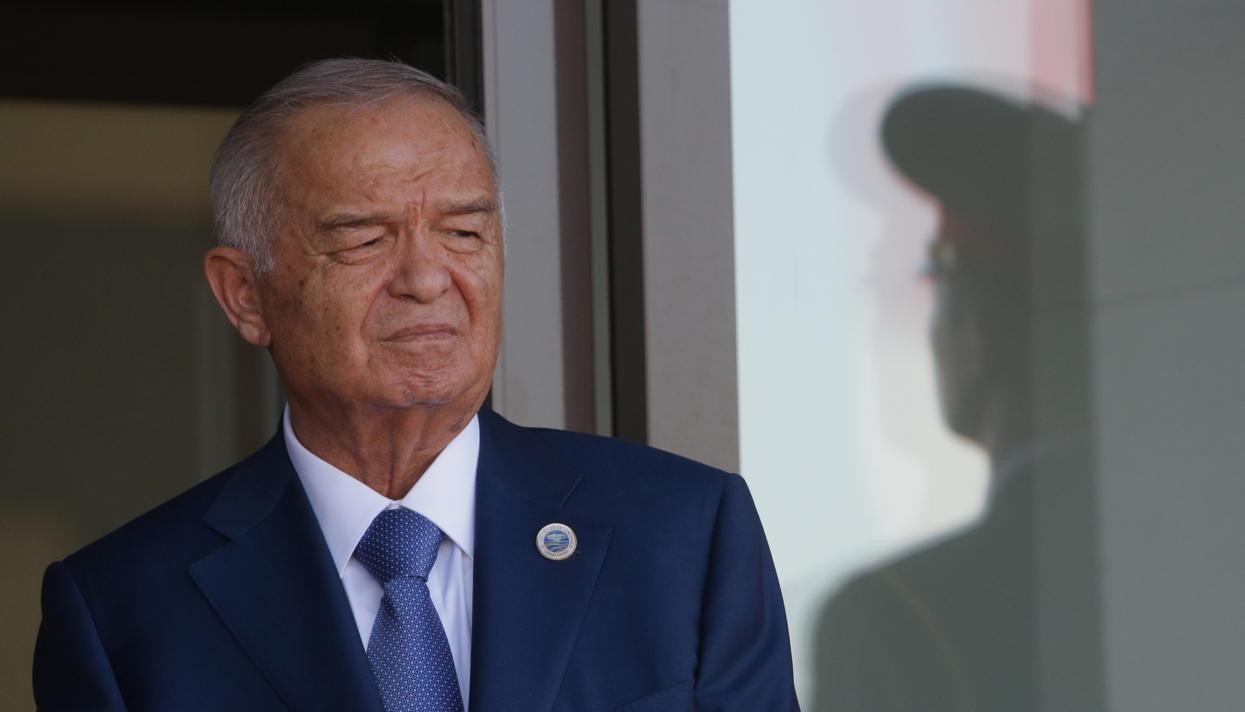 File photo of Uzbek president Islam Karimov, who died on Friday. Credit: Reuters