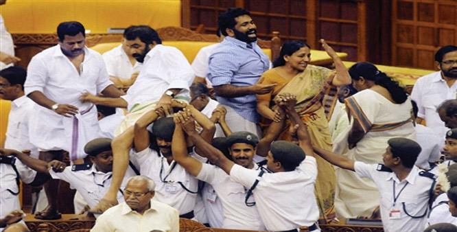 From Shoes to Chairs: A Short History of MLAs Being Violent in State Assemblies