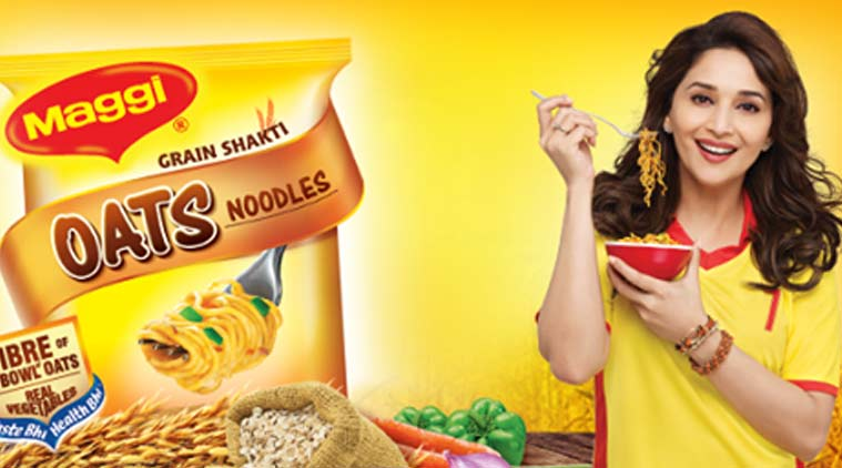 Actor Madhuri Dixit was served a notice by the Haridwar Food and Drug Adminstration after Maggi noodles was found to contain extra lead. Credit: PTI