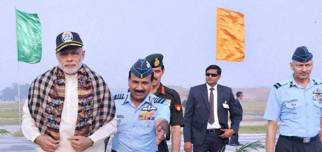 Air Chief Marshal Arup Raha Ventures Further Than He Should