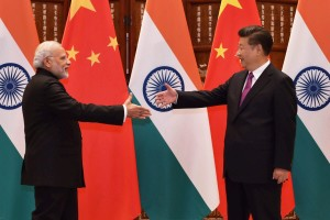 Prime Minister Narendra Modi with Chinese President, Xi Jinping during a bilateral meeting in Hangzhou, China on Sunday. Credit: PTI /Vijay Verma